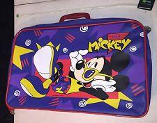 Walt Disney Company - Mickey Mouse - Hey Mickey - Vintage Child-Size Suitcase