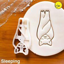 Sleeping Bat cookie cutter | Halloween party baby shower hang witchcraft vampire