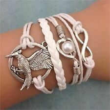 Pearl Silver Plated Fashion Bangles