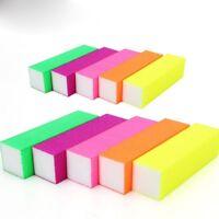Tips Colorful Sanding Manicure Tool Nail Art File Block 5pcs/set Buffer
