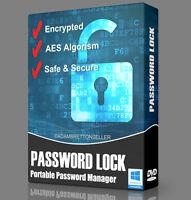 Password Lock Software - Encryption File Folder Safe Secure Master Manager DVD