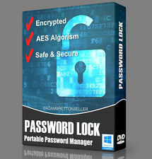 Password Lock Software - Encryption File Folder Safe Secure Master Manager DVD