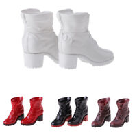 """1/6 Female Combat Booties Shoes Fit 12"""" Hot Toys Dragon Action Figure Body PICK"""