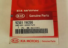 Genuine Kia Rio 2011-2016 Number Plate Lamp Assembly 925011W200