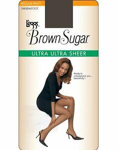 Leggs Womens Brown Sugar Ultra Ultra Sheer Pantyhose - Best-Seller!