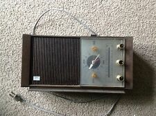 Sears Silvertone AM FM AFC Transistor Radio/Clock