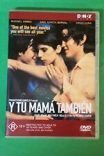 Dvd - Y Tu Mama Tambien - A Film By Alfonso Cuaron