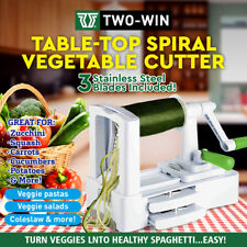 Vegetable Cutter Spiralizer Food Fruit Spiraliser Spiral Slicer Mandolin Shredde