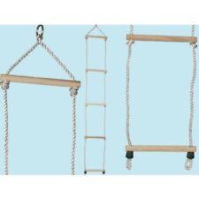 Scaletta di corda e legno scala Bimbo Gioco bambini 29x195h cm