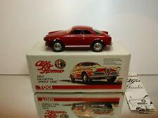TOGI #3 ALFA ROMEO GIULIETTA SPRINT 1954 - RED 1:23 - EXCELLENT IN BOX
