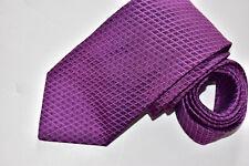 Men's Hugo Boss Purple    100% Silk  Neck made in Italy
