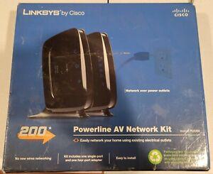 Cisco-Linksys PLK300 PowerLine AV Ethernet Adapter Kit