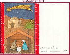1447 SANTINO HOLY CARD NATIVITà GESù BAMBINO NATALE 2001 BONELLA 645 - I. N. 2