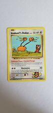 Pokemon XY Evolutions Imakuni?'s Doduo 112/108 NM Secret Rare