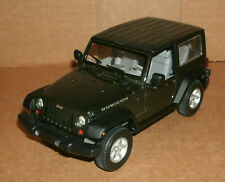 1/24 Scale 2015 Jeep Wrangler Rubicon Diecast Model Hard Top - Welly 22489 Green