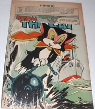 Atom the Cat Volume 1 number 10 1957 Comic Book**RARE**HERO**SEE PICS**F0009**