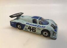 Vintage Matchbox 1987 Mercedes Sauber Group C Racer Blue #46 Grand Prix