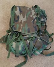 US Military MOLLE II MAIN BACKPACK Woodland Camo Ruck Pack