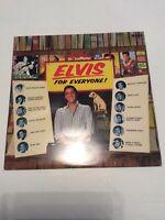 Elvis Presley Elvis For Everyone! Vinyl LP RCA Int'l INTS 5073 VG+/EX