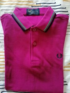Men's Fred Perry Polo Shirt, Size Small, Good Condition