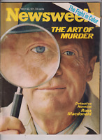 Newsweek Mag Ross Macdonald The Panthers March 22, 1971 012920nonr