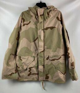 USGI US Army DCU Desert Camo Cold Weather Parka Jacket Gore-Tex Medium Regular