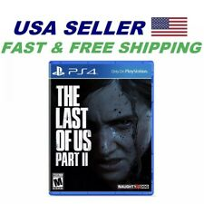 The Last of Us Part 2 Standard Edition Ps 4 Region Free!! Fast Shipping !