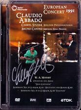 DVD Cheryl STUDER Signiert EUROPEAN CONCERT 1991 MOZART Symphony No.29 35 ABBADO