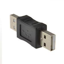 Enchufe USB 2.0 A macho a un adaptador de enchufe macho acoplador de carpintero [008612]