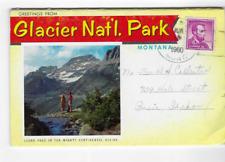 POSTCARD FOLDER-GLACIER NATIONAL PARK-MONTANA