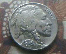 1936 S Buffalo Nickel Indian Head 5 cents San Francisco mint