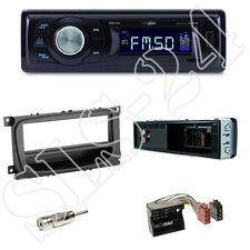 Caliber RMD021 Autoradio + Ford Mondeo, Focus Blende black + ISO Adapter Set