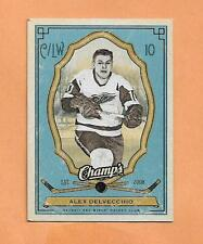 ALEX DELVECCHIO UPPER DECK CHAMPS 2009-10 CARD # 41