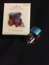 "Hallmark ""Li'L Locomotive� Miniature Ornament 2009 1st In Series"