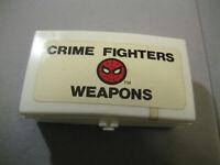 Vintage Mego Empire Spiderman Mobile Crime Lab Crime Fighters Weapons Box