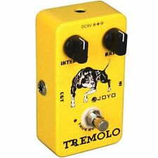 JOYO JF-09 Tremolo Guitar Effects FX Pedal True Bypass JF09 Tremolo Pedal