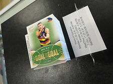 2017 AFL SELECT CERTIFIED GOAL TO GOAL SET OF 90 CARDS