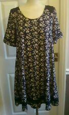 Monsoon Navy Floral Dress Size 14