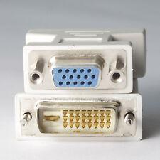 Premium Male DVI-D to Female VGA Adapter (DVI 24+1 Pin)
