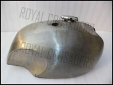 NEW BSA A65 SPITFIRE 4 GALLON RAW STEEL PETROL TANK WITH CAP (CODE305)