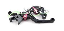 Black adjustable levers Hayabusa GSXR1300 GSXR1400 SV1000/S GSX650F #LV302#