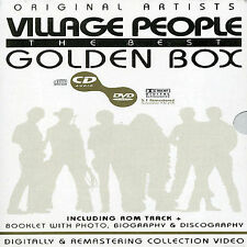 Golden Box by The Village People (CD, Jan-2004, Dvd)