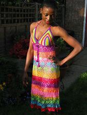 Handgehäkeltes Sommer Kleid.