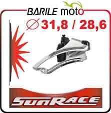 Deragliatore / Cambio Marce Bici SUNRACE Ø 31,8 / 28,6 mm Tiraggio Basso / Alto