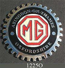 Oxfordshire MG Owner Car Grille Badge NEW!