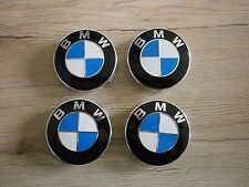 -4 Stück BMW Fahrzeug Embleme Nabenkappen Nabendeckel Felgendeckel 68mm NEU-