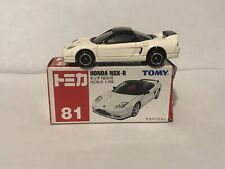 TOMY TOMICA RED BOX 81 HONDA NSX-R WHITE BLACK MADE IN CHINA