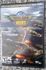 PACIFIC STORM ALLIES PC DVD-ROM WORLD WAR II STRATEGY GAME brand new & sealed
