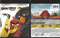 The Angry Birds Movie  (Includes 4K Ultra HD + 3D Blu-ray, 2016, 3-Disc Set)