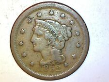 1852 Large Cent  Very Nice Coin foe Collection 821